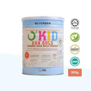 Biogreen O'Kid DHA Gold Organic Soya Milk