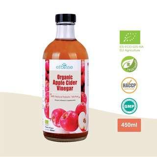 etblisse Organic Apple Cider Vinegar
