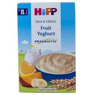 HIPP ORGANIC MILK PAP FRUITS YOGURT