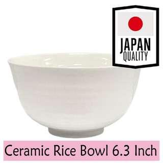 Nomi Japan Ceramic Rice Bowl 6.3 Inch