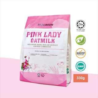 Biogreen Pink Lady Dairy Free Oatmilk (Sachet)