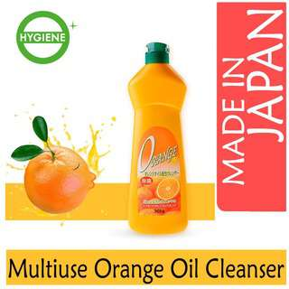 Rocket Soap Japan Japan Multipurpose Orange Oil CreamCleanser
