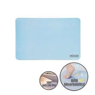 HOUZE Diatomite Absorbent Mat (Large) - Blue