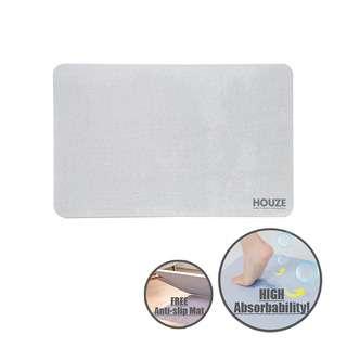 HOUZE Diatomite Absorbent Mat (Large) - Grey