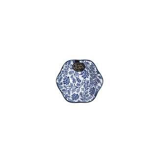 Table Matters Floral Blue - Lotus Leaf Saucer
