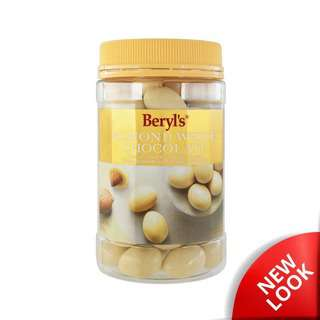 Beryl's Jar Almond Coated With White Chocolate