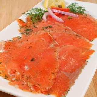Catch Seafood Smoke Salmon Gravlax
