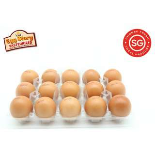 LCK Farm Local Eggs Pasteurized (Family Pack) 60g