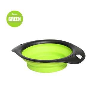 Nunbell Pet Foldable Bowl - Green