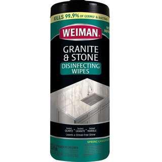 Weiman Granite & Stone Wipes