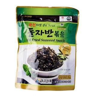 Taekyung Oil Fried  Seaweed Snack