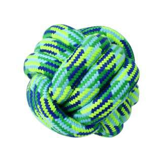 Nunbell Small Pet Toys knotted Ball - Blue