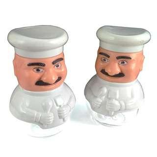 Herevin Chef Glass Salt & Pepper Shaker