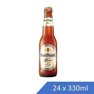 SAN MIGUEL WHEAT BEER-PINT-CASE