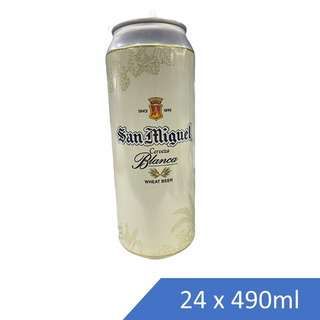 SAN MIGUEL WHEAT BEER-CAN-CASE