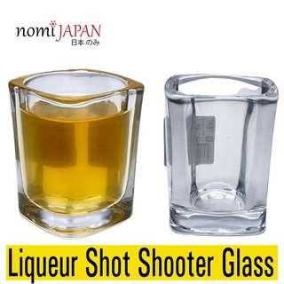 Nomi Japan Heavy Base Classy Liqueur Shot Shooter Glass