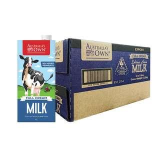 Australia's Own Full Cream Milk