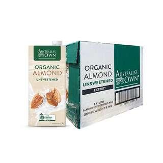 Australia's Own Organic Almond Milk Unsweetened
