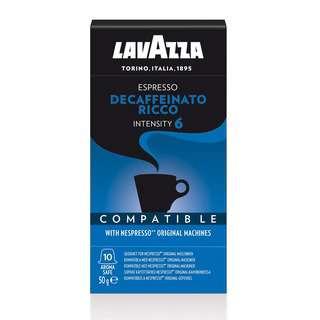 Lavazza Nespresso Compatible Capsules Decaf