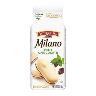 Pepperidge Farm Milano Mint Chocolate Cookies