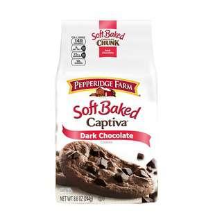 Pepperidge Farm Soft Baked Captiva Dark Chocolate Cookies