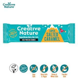 Creative Nature Super Salted Caramel Protein Bar - Vegan