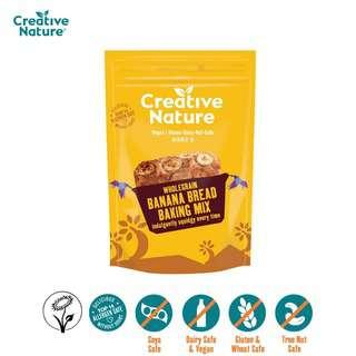 Creative Nature Wholegrain Banana Bread Mix - Vegan