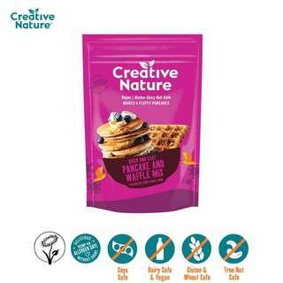 Creative Nature Pancake and Waffle Mix - Vegan
