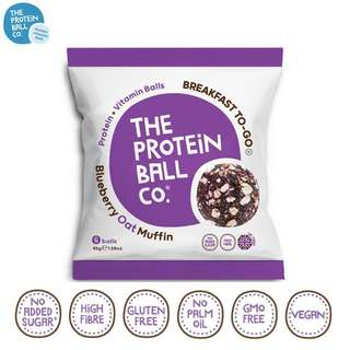 The Protein Ball Co. Blueberry Oat Muffin Protein Balls