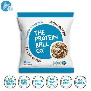 The Protein Ball Co. High Protein Peanut Butter Protein Balls