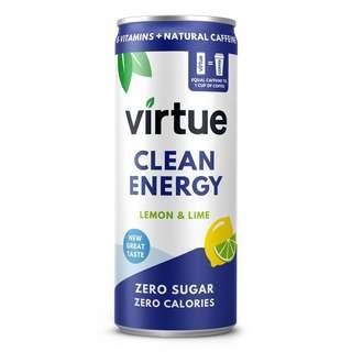 Virtue Natural Energy Sparkling Water Lemon Lime