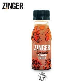 Zinger Organic Ginger Juice Shot - Immunity Booster