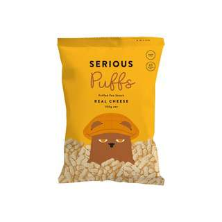 Serious Food Company Puffs - Real Cheese