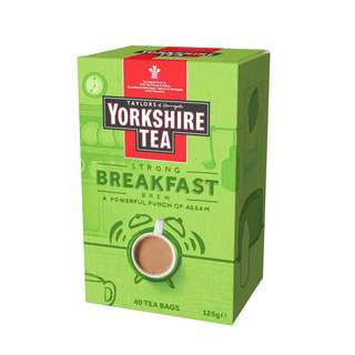 Taylors of Harrogate Yorkshire Breakfast Brew Tea Bag