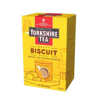 Taylors of Harrogate Yorkshire Biscuit Brew Tea Bag