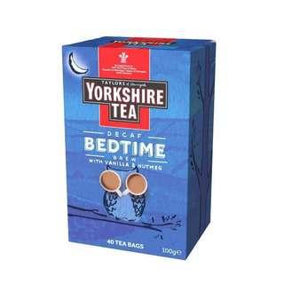 Taylors of Harrogate Yorkshire Bedtime (Decaf) Brew Tea Bag