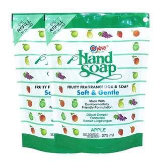 Yuri Handsoap Refill Twinpack Apple