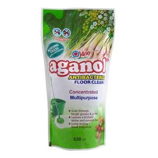 Yuri Aganol Antibacterial Flr Clr Rf 630ml Morn Frsh/Lmngrass