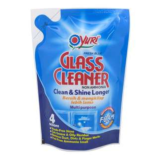 Yuri Glass Cleaner Refill (Foaming) Fresh Blue