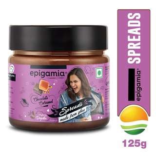 Epigamia Chocolate Caramel Ghee Spread - By Sonnamera