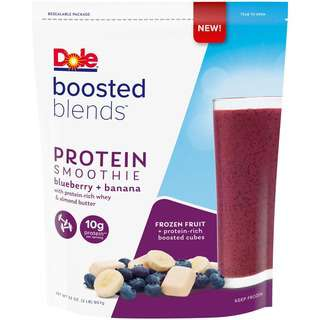 Dole Protein Smoothie Blends (Blueberry + Banana) - Frozen