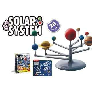 PORIA Solar System education toys in color box