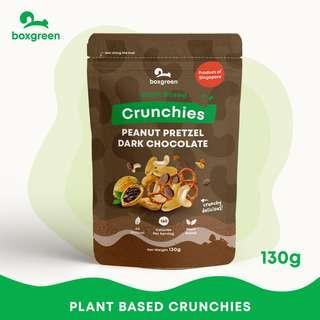 Boxgreen Peanut Pretzel Dark Chocolate