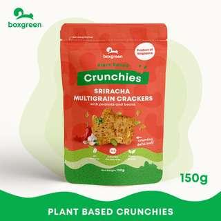 Boxgreen Sriracha Multigrain Crackers