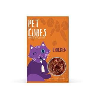 PetCubes Raw Cat Food - Chicken