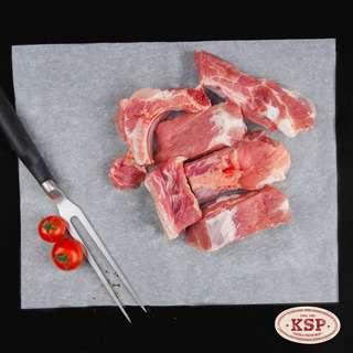 KSP Fresh Pork Spare Ribs Cuts