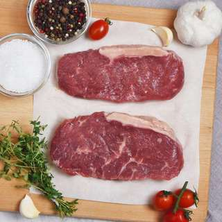 Green Meadows Beef Striploin Steaks