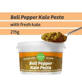 Sustenir Bell Pepper Kale Pesto