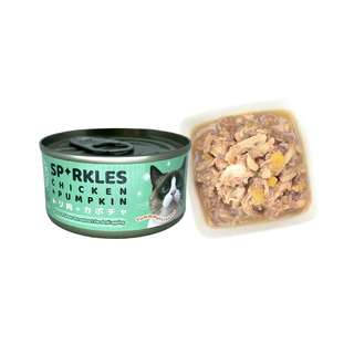 Sparkles Cat Can Food - Chicken & Pumpkin