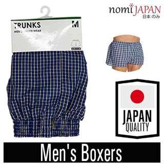 Nomi Japan Dark Blue Men's Boxers Medium W  76-84Cm 31-33Inch